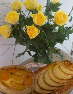 tartlettes roses